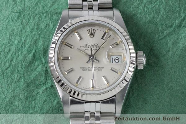 Used luxury watch Rolex Lady Datejust steel / white gold automatic Kal. 2135 Ref. 69174  | 160838 15