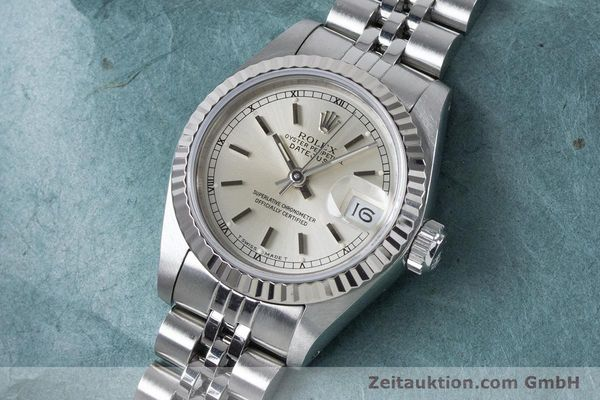 Used luxury watch Rolex Lady Datejust steel / white gold automatic Kal. 2135 Ref. 69174  | 160839 01