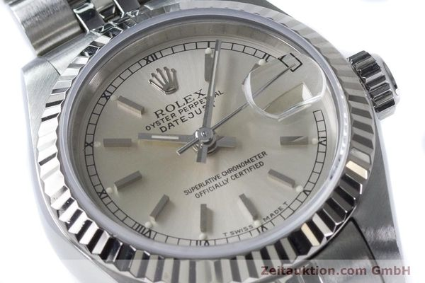 Used luxury watch Rolex Lady Datejust steel / white gold automatic Kal. 2135 Ref. 69174  | 160839 02