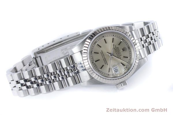 Used luxury watch Rolex Lady Datejust steel / white gold automatic Kal. 2135 Ref. 69174  | 160839 03