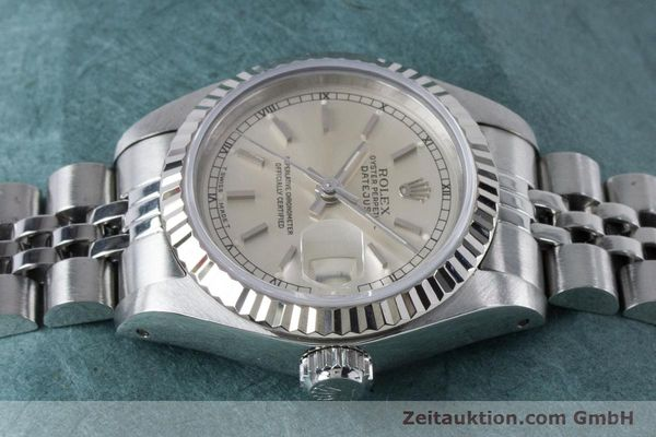 Used luxury watch Rolex Lady Datejust steel / white gold automatic Kal. 2135 Ref. 69174  | 160839 05