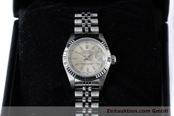Used luxury watch Rolex Lady Datejust steel / white gold automatic Kal. 2135 Ref. 69174  | 160839 07