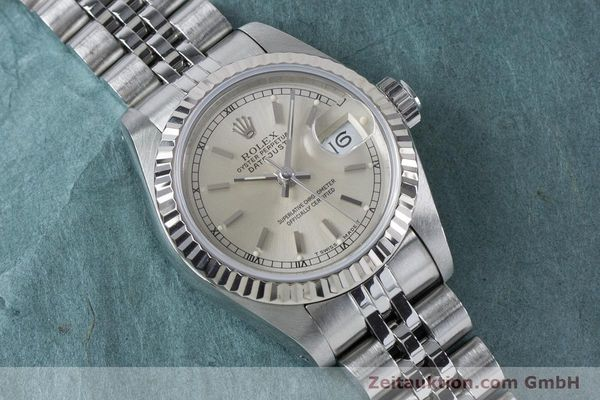 Used luxury watch Rolex Lady Datejust steel / white gold automatic Kal. 2135 Ref. 69174  | 160839 15