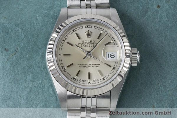 Used luxury watch Rolex Lady Datejust steel / white gold automatic Kal. 2135 Ref. 69174  | 160839 16