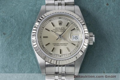 ROLEX LADY DATEJUST STEEL / WHITE GOLD AUTOMATIC KAL. 2135 LP: 6000EUR [160839]