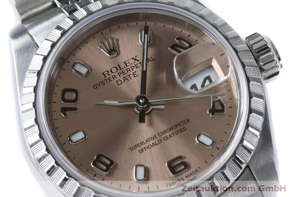 Used luxury watch Rolex Lady Date steel automatic Kal. 2235 Ref. 79240  | 160840 02