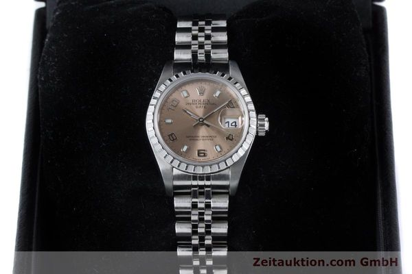 Used luxury watch Rolex Lady Date steel automatic Kal. 2235 Ref. 79240  | 160840 07