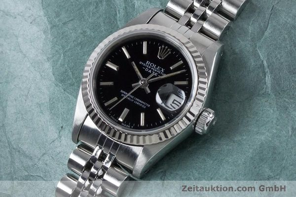 Used luxury watch Rolex Lady Date steel / white gold automatic Kal. 2135 Ref. 69174  | 160841 01