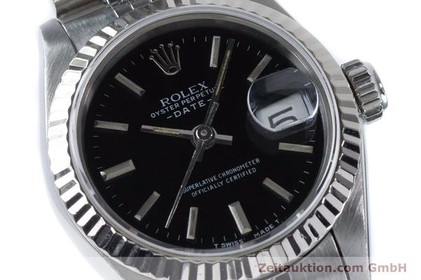Used luxury watch Rolex Lady Date steel / white gold automatic Kal. 2135 Ref. 69174  | 160841 02