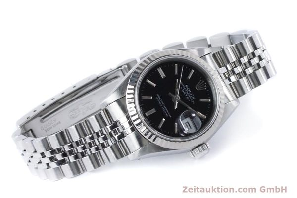 Used luxury watch Rolex Lady Date steel / white gold automatic Kal. 2135 Ref. 69174  | 160841 03