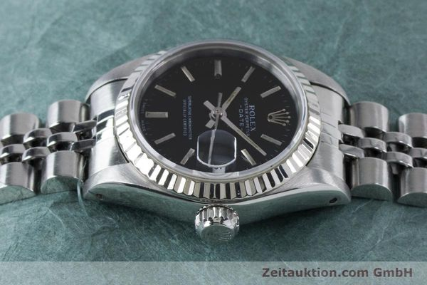 Used luxury watch Rolex Lady Date steel / white gold automatic Kal. 2135 Ref. 69174  | 160841 05