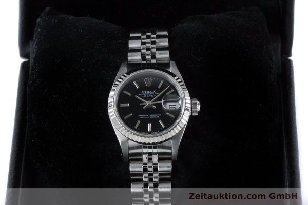 Used luxury watch Rolex Lady Date steel / white gold automatic Kal. 2135 Ref. 69174  | 160841 07