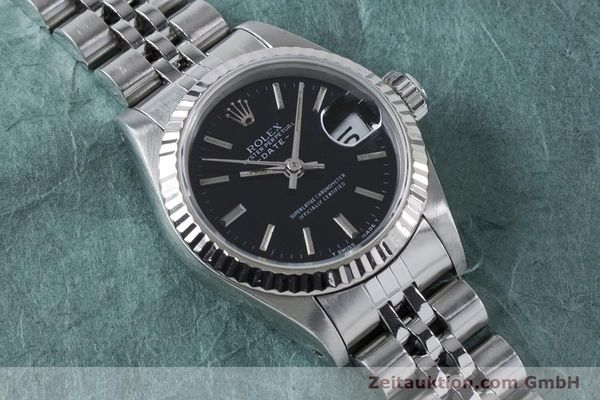 Used luxury watch Rolex Lady Date steel / white gold automatic Kal. 2135 Ref. 69174  | 160841 13