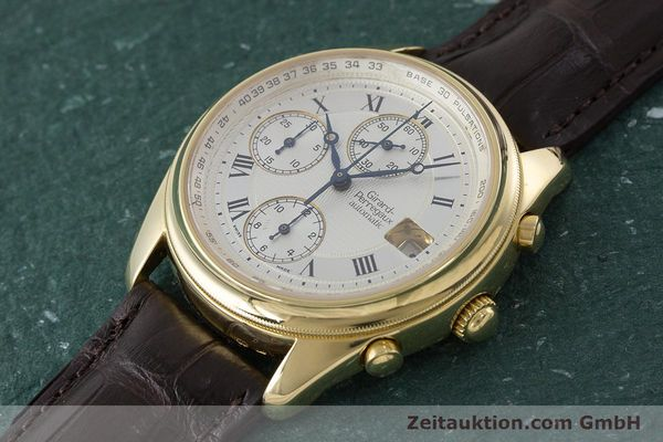 Used luxury watch Girard Perregaux Olimpico chronograph 18 ct gold automatic Kal. 8000-214 Ref. 4900, 4910  | 160844 01