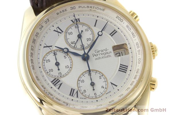Used luxury watch Girard Perregaux Olimpico chronograph 18 ct gold automatic Kal. 8000-214 Ref. 4900, 4910  | 160844 02