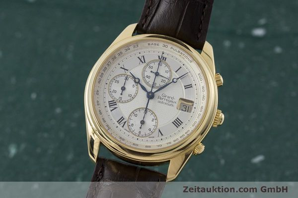 GIRARD PERREGAUX OLIMPICO CHRONOGRAPHE OR 18 CT AUTOMATIQUE KAL. 8000-214 LP: 26300EUR  [160844]