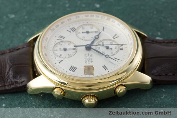 Used luxury watch Girard Perregaux Olimpico chronograph 18 ct gold automatic Kal. 8000-214 Ref. 4900, 4910  | 160844 05