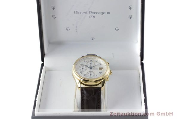 Used luxury watch Girard Perregaux Olimpico chronograph 18 ct gold automatic Kal. 8000-214 Ref. 4900, 4910  | 160844 07