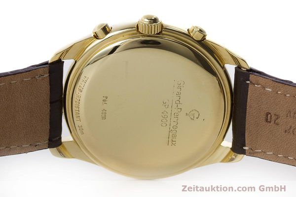 Used luxury watch Girard Perregaux Olimpico chronograph 18 ct gold automatic Kal. 8000-214 Ref. 4900, 4910  | 160844 08