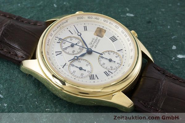 Used luxury watch Girard Perregaux Olimpico chronograph 18 ct gold automatic Kal. 8000-214 Ref. 4900, 4910  | 160844 16