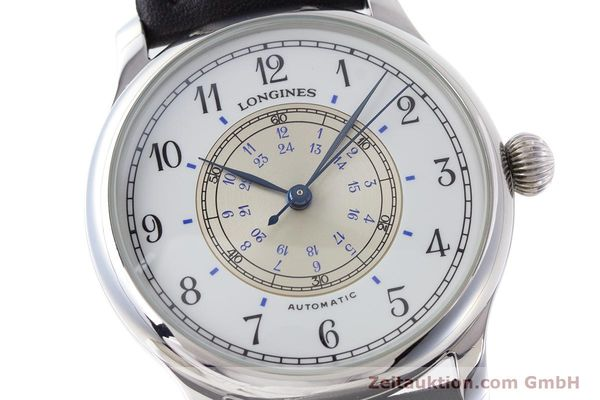 Used luxury watch Longines Weems Navigation Watch steel automatic Kal. 628.1 ETA 2892-2 Ref. 628.5241  | 160848 02