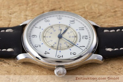 LONGINES WEEMS NAVIGATION WATCH ACIER AUTOMATIQUE KAL. 628.1 ETA 2892-2 [160848]