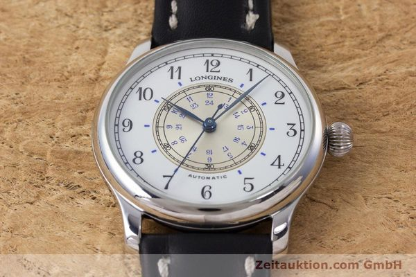 Used luxury watch Longines Weems Navigation Watch steel automatic Kal. 628.1 ETA 2892-2 Ref. 628.5241  | 160848 14