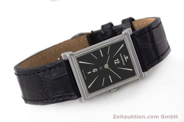 Used luxury watch Jaeger Le Coultre * steel quartz Kal. 602 Ref. 160.006.8  | 160849 03