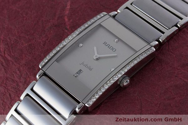 Used luxury watch Rado Jubile ceramic / steel quartz Kal. ETA 256.041 Ref. 160.0429.3  | 160851 01