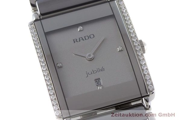 Used luxury watch Rado Jubile ceramic / steel quartz Kal. ETA 256.041 Ref. 160.0429.3  | 160851 02