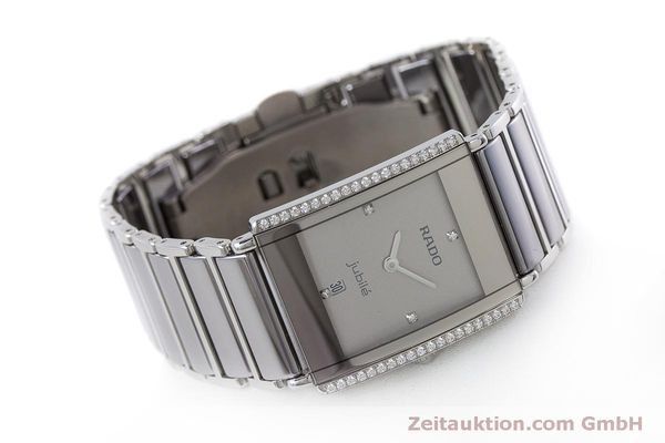 Used luxury watch Rado Jubile ceramic / steel quartz Kal. ETA 256.041 Ref. 160.0429.3  | 160851 03