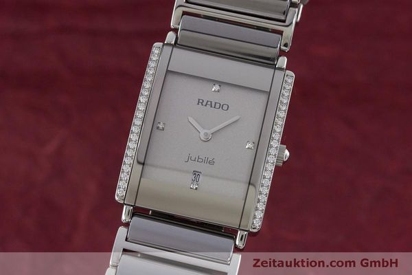Used luxury watch Rado Jubile ceramic / steel quartz Kal. ETA 256.041 Ref. 160.0429.3  | 160851 04