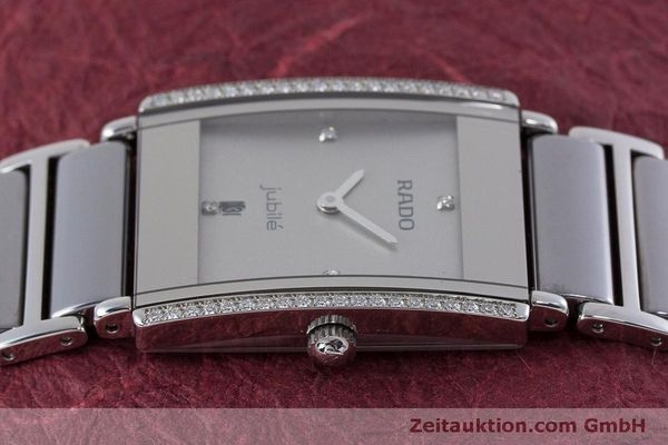 Used luxury watch Rado Jubile ceramic / steel quartz Kal. ETA 256.041 Ref. 160.0429.3  | 160851 05