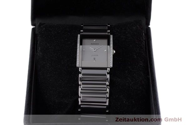 Used luxury watch Rado Jubile ceramic / steel quartz Kal. ETA 256.041 Ref. 160.0429.3  | 160851 07