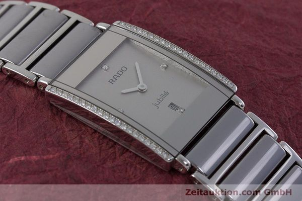 Used luxury watch Rado Jubile ceramic / steel quartz Kal. ETA 256.041 Ref. 160.0429.3  | 160851 12