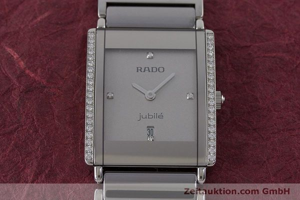 Used luxury watch Rado Jubile ceramic / steel quartz Kal. ETA 256.041 Ref. 160.0429.3  | 160851 13