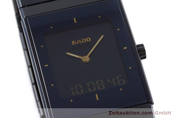Used luxury watch Rado Diastar chronograph ceramic / steel quartz Kal. ETA 988332 Ref. 193.0324.3  | 160853 02