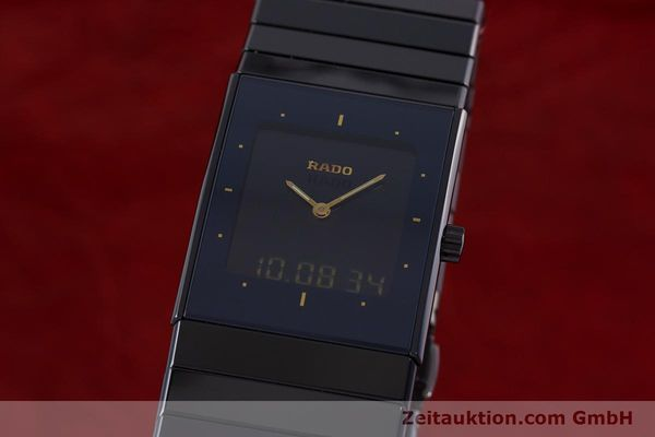 Used luxury watch Rado Diastar chronograph ceramic / steel quartz Kal. ETA 988332 Ref. 193.0324.3  | 160853 04