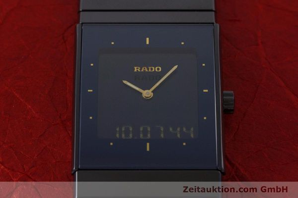 Used luxury watch Rado Diastar chronograph ceramic / steel quartz Kal. ETA 988332 Ref. 193.0324.3  | 160853 13