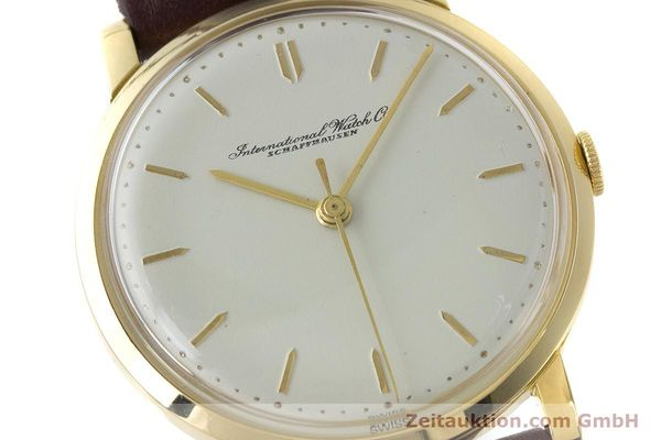 Used luxury watch IWC Portofino 18 ct gold manual winding Kal. 401 Ref. 1205 VINTAGE  | 160854 02
