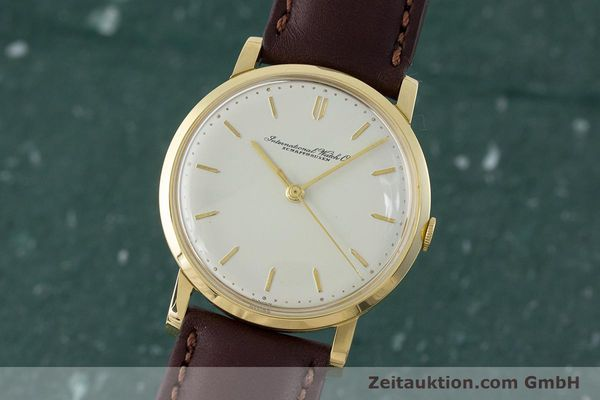 Used luxury watch IWC Portofino 18 ct gold manual winding Kal. 401 Ref. 1205 VINTAGE  | 160854 04
