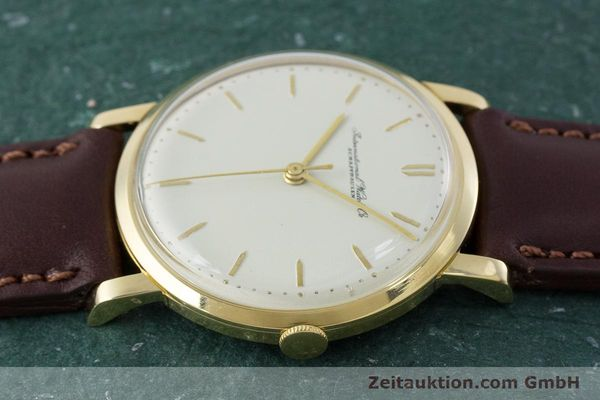 Used luxury watch IWC Portofino 18 ct gold manual winding Kal. 401 Ref. 1205 VINTAGE  | 160854 05