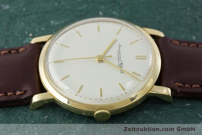 IWC PORTOFINO 18 CT GOLD MANUAL WINDING KAL. 401 VINTAGE [160854]