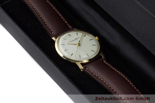 Used luxury watch IWC Portofino 18 ct gold manual winding Kal. 401 Ref. 1205 VINTAGE  | 160854 07