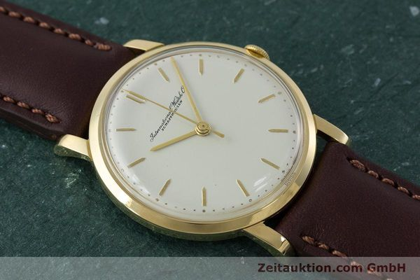 Used luxury watch IWC Portofino 18 ct gold manual winding Kal. 401 Ref. 1205 VINTAGE  | 160854 13