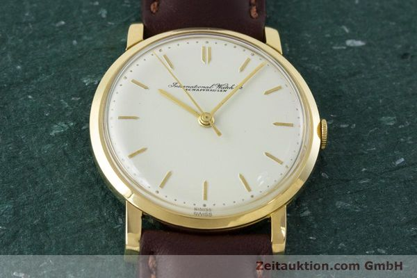 Used luxury watch IWC Portofino 18 ct gold manual winding Kal. 401 Ref. 1205 VINTAGE  | 160854 14