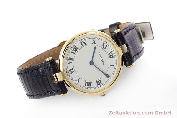 Used luxury watch Cartier * 18 ct gold quartz Kal. 81 Ref. 9996  | 160859 03