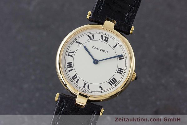 CARTIER ORO 18 CT QUARZO KAL. 81 [160859]