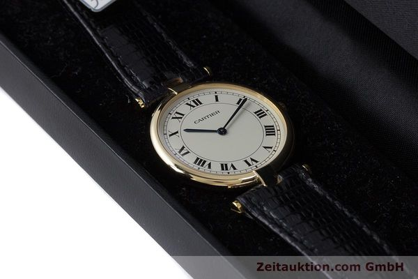 Used luxury watch Cartier * 18 ct gold quartz Kal. 81 Ref. 9996  | 160859 07