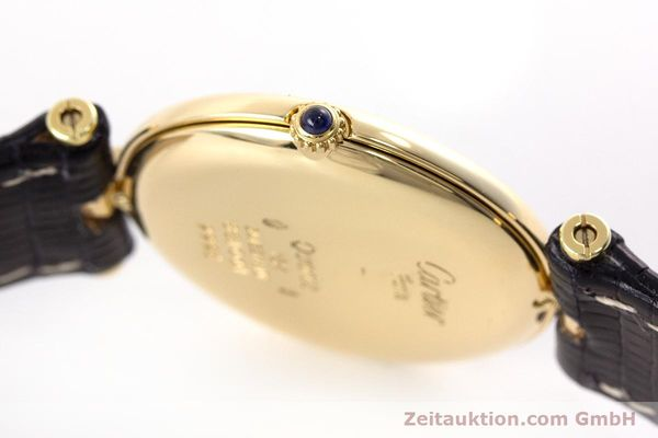 Used luxury watch Cartier * 18 ct gold quartz Kal. 81 Ref. 9996  | 160859 08